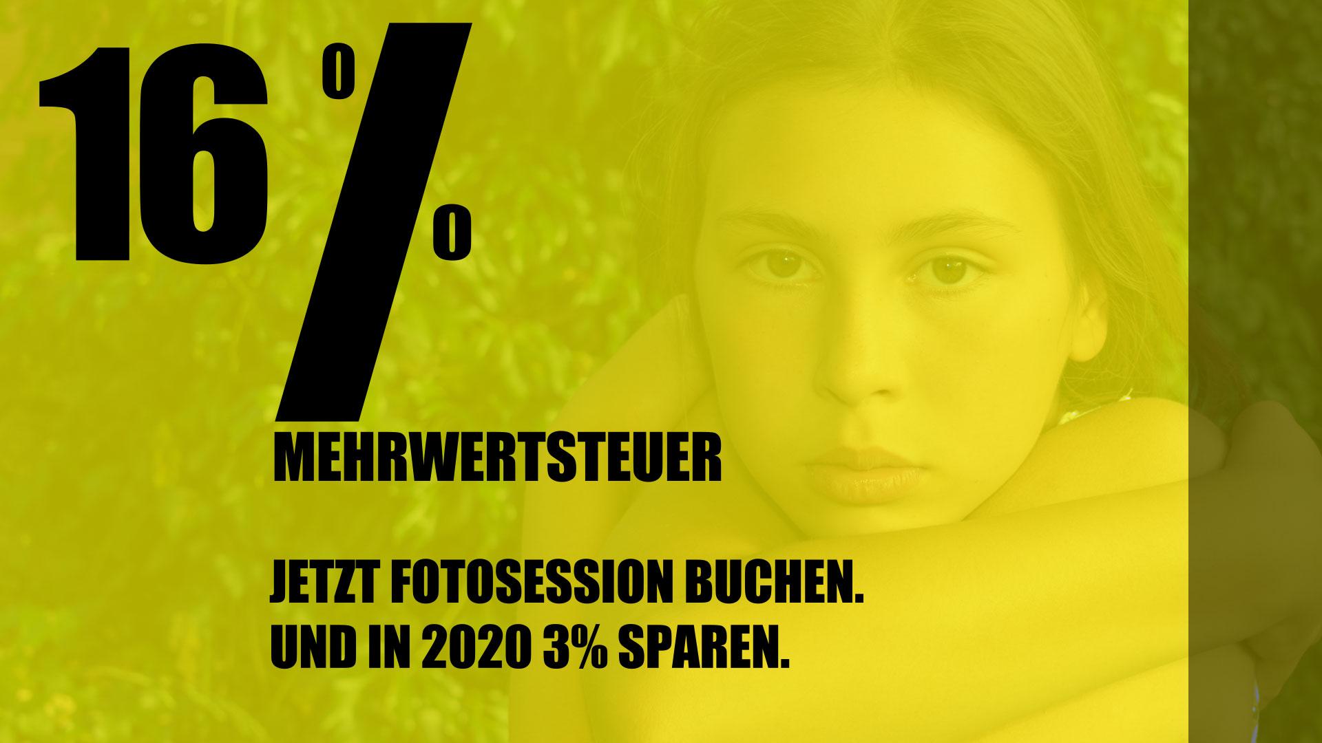 16 Prozent MwSt - Bares sparen