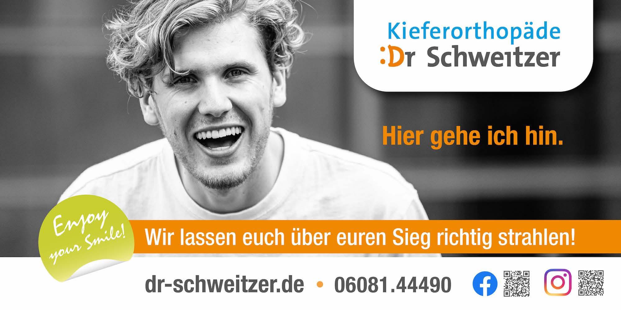 Arbeitsprobe Dr. Schweitzer Werbebanner