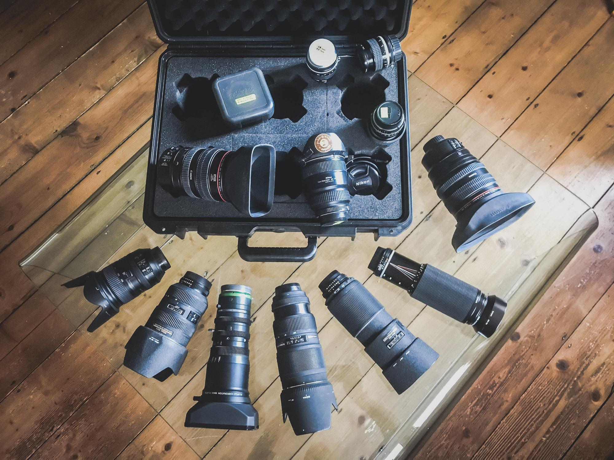 Optiken / Lenses
